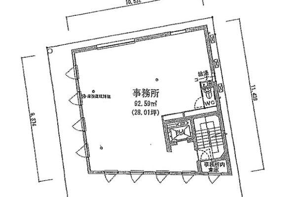 成城学園前 4階 図面 開発部